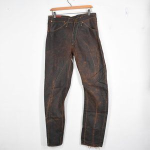 Levis RED twisted jeans 32 x 32 brown duck canvas